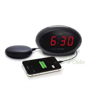 Reloj despertador con vibración TodOído Centro Auditivo