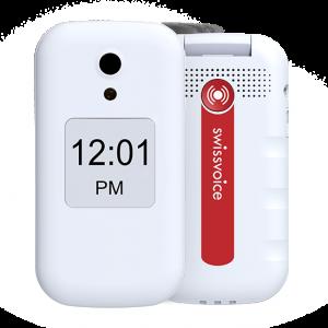 teléfono móvil para mayores swissvoice d28