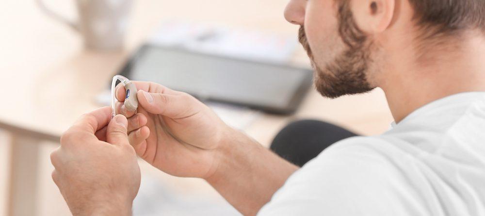 reparación de audífono