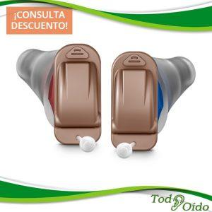 Audífonos Signia Silk X color moca