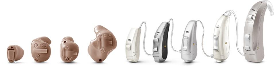 todas las marcas de audífonos
