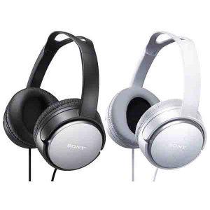 Casco Auricular Aro Negro y blanco Sony MDR-XD150