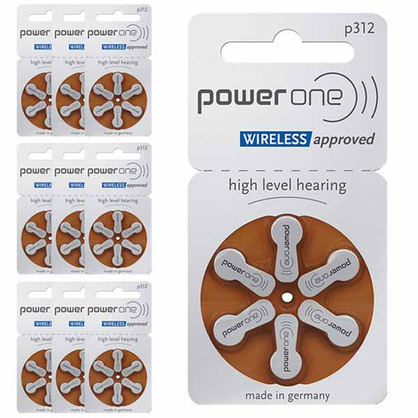 60 Pilas 312 Power One