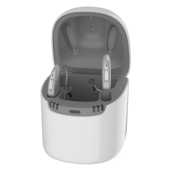 Cargador para audífonos Signia AX