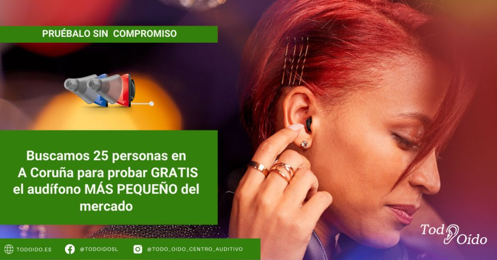 Prueba de audífonos gratis en A Coruña